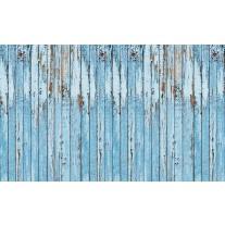 Fotobehang Papier Hout, Landelijk | Blauw | 254x184cm