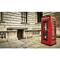 Fotobehang Papier Engeland | Rood | 254x184cm