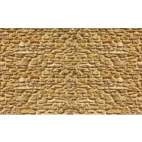 Fotobehang Papier Stenen, Muur | Geel | 368x254cm