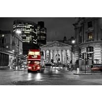 Fotobehang Papier London | Zwart, Grijs | 368x254cm