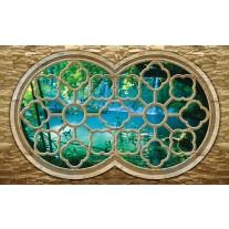 Fotobehang Papier Natuur, Slaapkamer | Blauw | 254x184cm