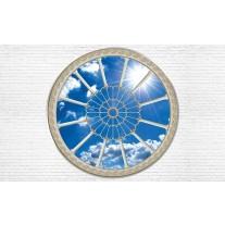 Fotobehang Papier Muur, Lucht | Blauw | 254x184cm