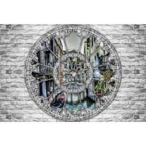 Fotobehang Papier Muur, Venetië | Grijs | 368x254cm