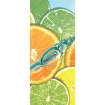 Deursticker Muursticker Fruit, Keuken | Groen | 91x211cm
