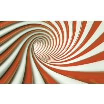 Fotobehang Papier Design, Slaapkamer | Oranje | 254x184cm
