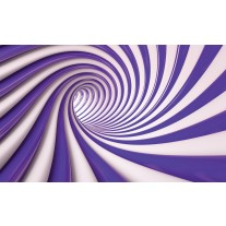 Fotobehang Papier Design | Paars, Wit | 254x184cm