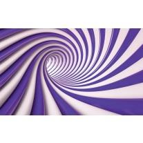Fotobehang Papier Design | Paars, Wit | 368x254cm