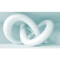 Fotobehang Papier 3D, Design | Wit | 254x184cm