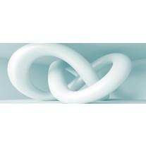 Fotobehang 3D, Design | Wit | 250x104cm