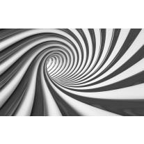 Fotobehang Design, Diepte | Zwart | 152,5x104cm