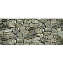 Fotobehang Stenen, Muur | Groen | 250x104cm