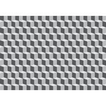 Fotobehang Papier 3D, Design | Grijs | 368x254cm