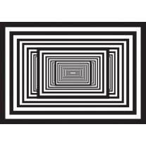 Fotobehang Papier 3D, Design | Zwart | 368x254cm