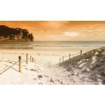 Fotobehang Strand, Zee | Crème | 152,5x104cm