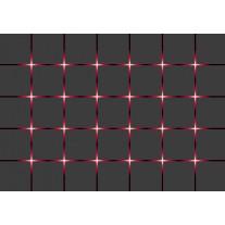 Fotobehang Papier Design | Grijs, Rood | 254x184cm
