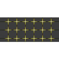 Fotobehang Design | Grijs, Geel | 250x104cm