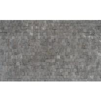 Fotobehang Papier Stenen, Muur | Grijs | 254x184cm