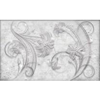 Fotobehang Papier Muur, Bloemen | Grijs | 368x254cm