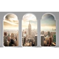 Fotobehang Skyline, Modern | Grijs |