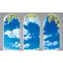 Fotobehang Natuur, Lucht | Blauw | 152,5x104cm