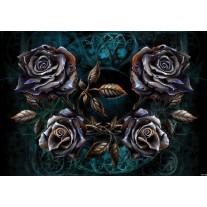 Fotobehang Papier Alchemy Gothic | Zwart | 254x184cm