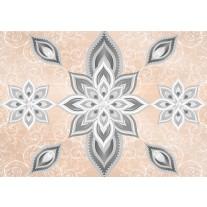 Fotobehang Papier Modern | Zilver | 254x184cm