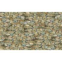 Fotobehang Papier Stenen, Muur | Grijs | 368x254cm
