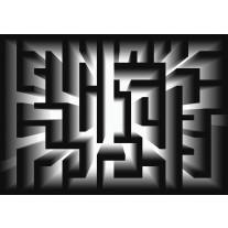 Fotobehang Papier Design, Doolhof | Zwart | 368x254cm