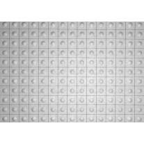 Fotobehang Papier Modern | Zilver, Grijs | 254x184cm