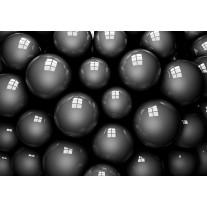 Fotobehang Modern | Grijs, Zwart | 152,5x104cm