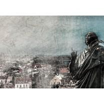 Fotobehang Papier Nicolaas Copernicus | Grijs | 254x184cm