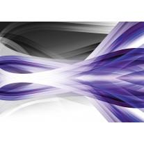 Fotobehang Papier Design | Grijs, Paars | 254x184cm