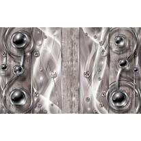 Fotobehang Papier Design, Modern | Zilver | 254x184cm
