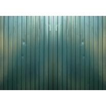 Fotobehang Papier Metaallook, Industrieel | Groen | 368x254cm