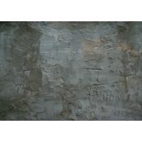 Fotobehang Papier Industrieel, Muur | Grijs | 254x184cm