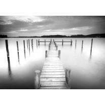 Fotobehang Brug, Natuur | Grijs | 152,5x104cm