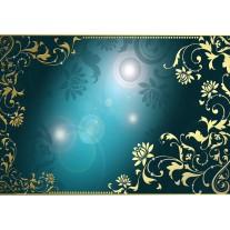 Fotobehang Klassiek | Turquoise | 152,5x104cm