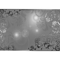 Fotobehang Papier Klassiek | Zilver, Grijs | 368x254cm