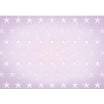 Fotobehang Papier Sterren | Roze, Paars | 254x184cm