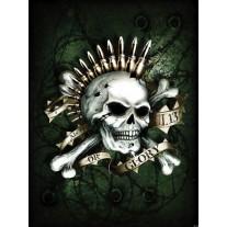 Fotobehang Alchemy, Gothic   Groen   206x275cm