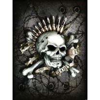 Fotobehang Papier Alchemy, Gothic   Grijs   184x254cm