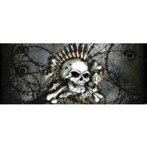 Fotobehang Alchemy Gothic | Groen | 250x104cm