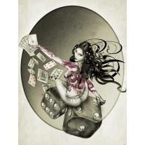 Fotobehang Papier Alchemy, Gothic | Grijs | 184x254cm