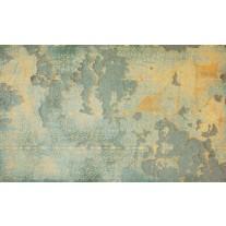 Fotobehang Papier Industrieel, Muur | Geel | 254x184cm