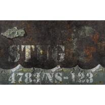 Fotobehang Papier Muur, Industrieel | Bruin | 368x254cm