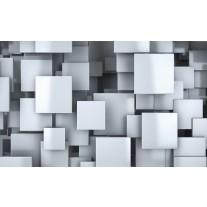 Fotobehang Papier 3D, Design | Blauw | 368x254cm