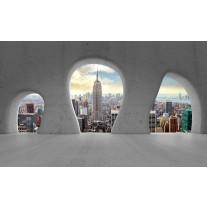 Fotobehang Skyline, Modern | Grijs | 152,5x104cm