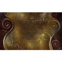 Fotobehang Papier Klassiek | Bruin, Goud | 368x254cm