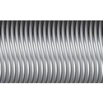 Fotobehang Papier 3D, Design | Zilver | 368x254cm