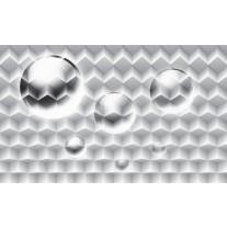 Fotobehang 3D, Modern | Zilver | 152,5x104cm
